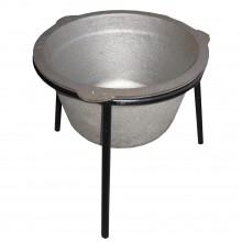 ltž kotliček 20 litrov, z okroglim stojalom