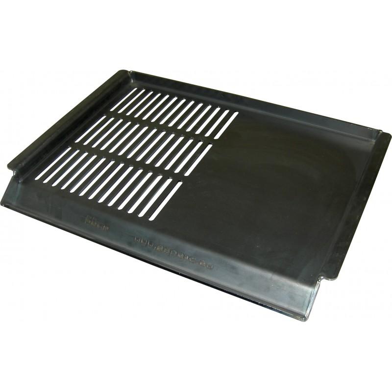 Fe plošča za kamin pol mreža 58 x 40 72.99€