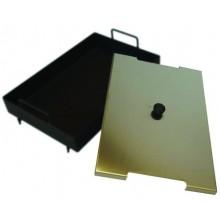 Fe globoka plošča 26x40 + pokrov